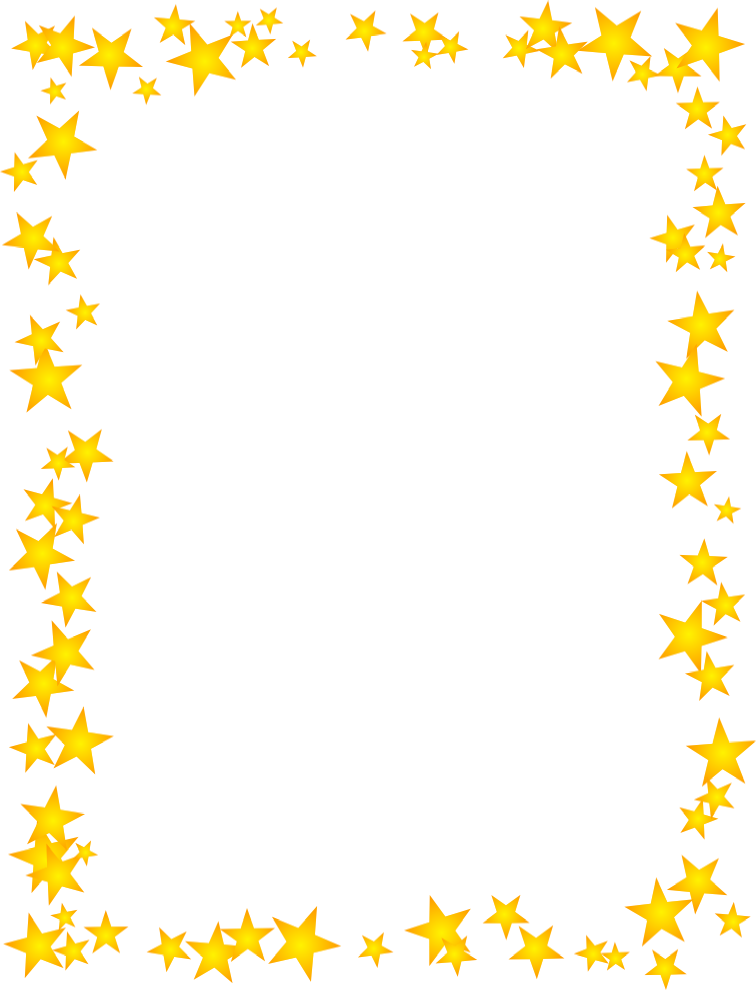 Muffins clipart border. Star cliparts borders free