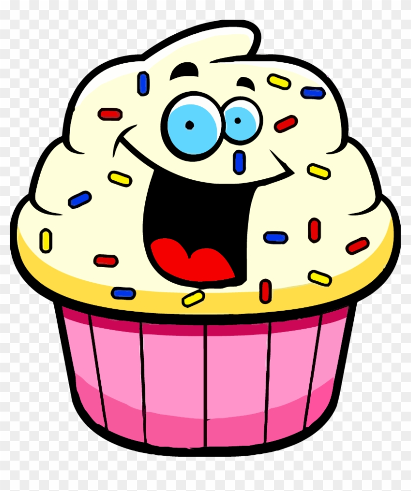 Muffin clipart cartoon. Cupcake pictures of desserts
