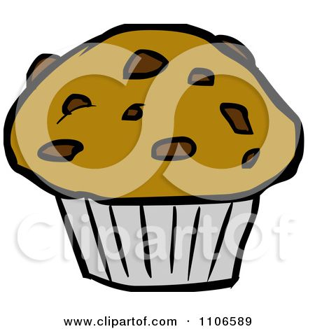 Gift ideas cartoon styles. Muffin clipart chocolate chip muffin