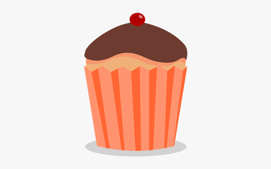 Colored free . Muffin clipart colorful cupcake