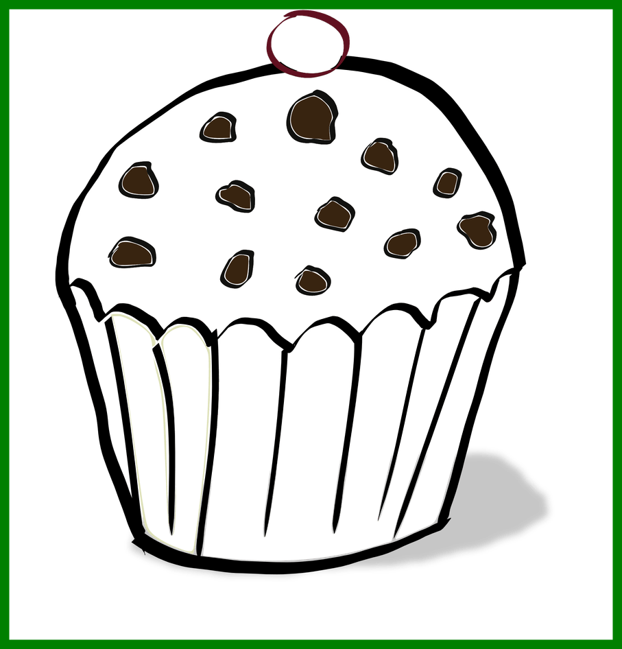 Muffins clipart if you give a moose a muffin. Awesome coloring pages png