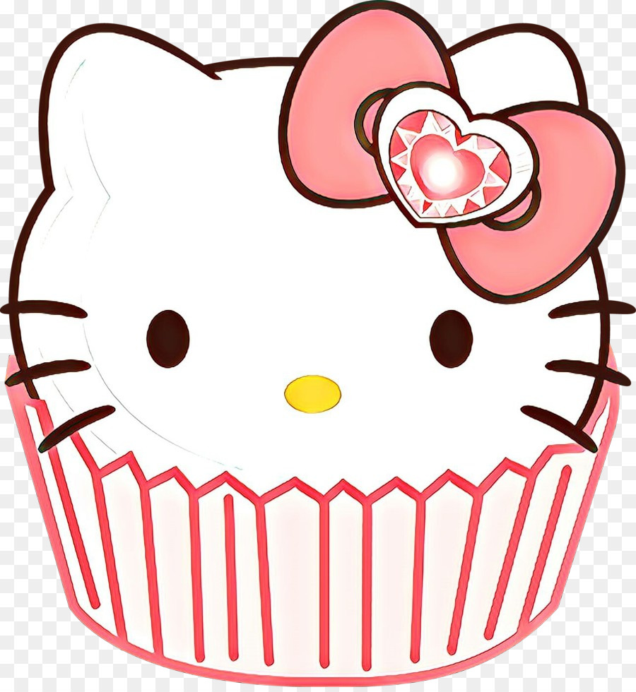 Muffin clipart cupcake hello kitty. Background