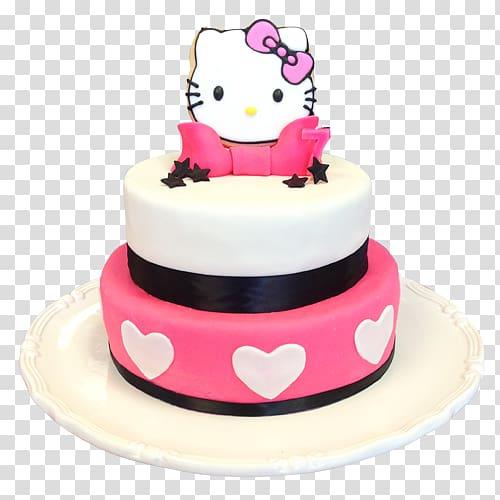 Birthday cake bakery torte. Muffin clipart cupcake hello kitty