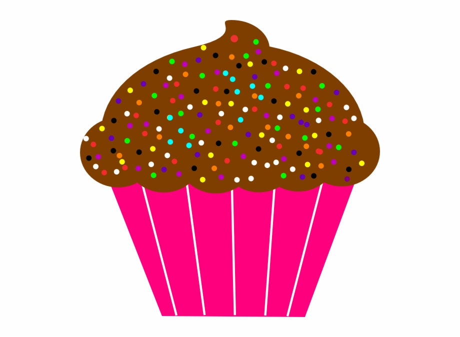 Cupcake transparent background png. Muffins clipart dozen