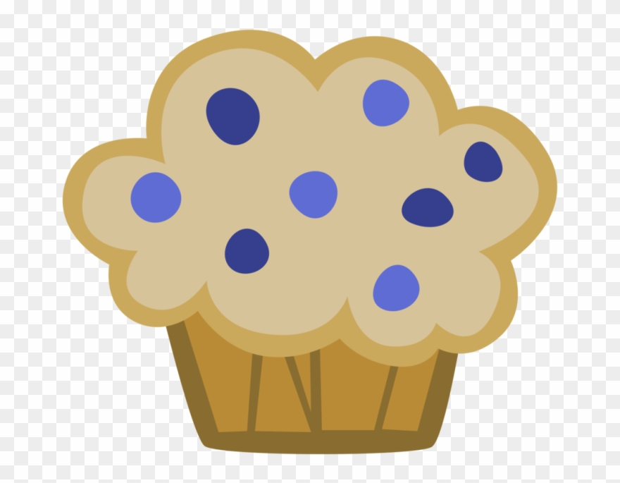 Muffin clipart five. Clipground blueberry