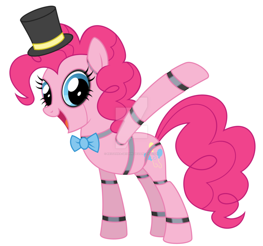 Fnap pinkie pie by. Muffins clipart five