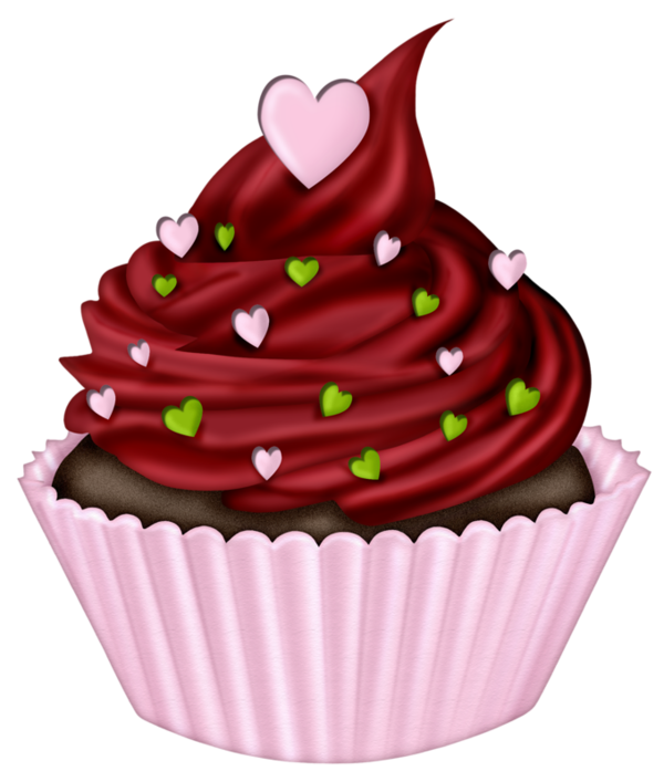 Frosting icing clip art. Muffin clipart frosted cupcake