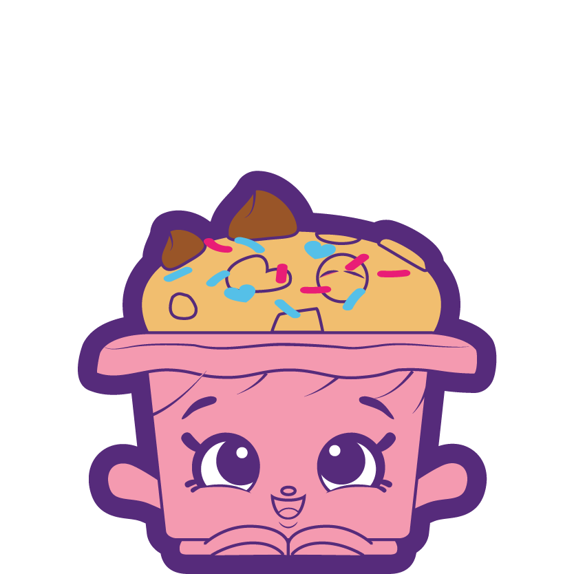 Shopkins martha choc chip. Muffin clipart if you give a moose a muffin