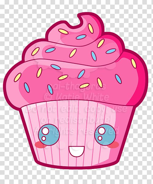 Muffin clipart kawaii. Cupcake drawing cake transparent