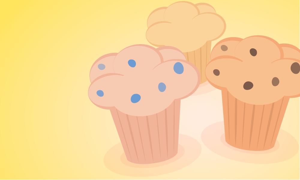Muffin clipart mini muffin. Muffins