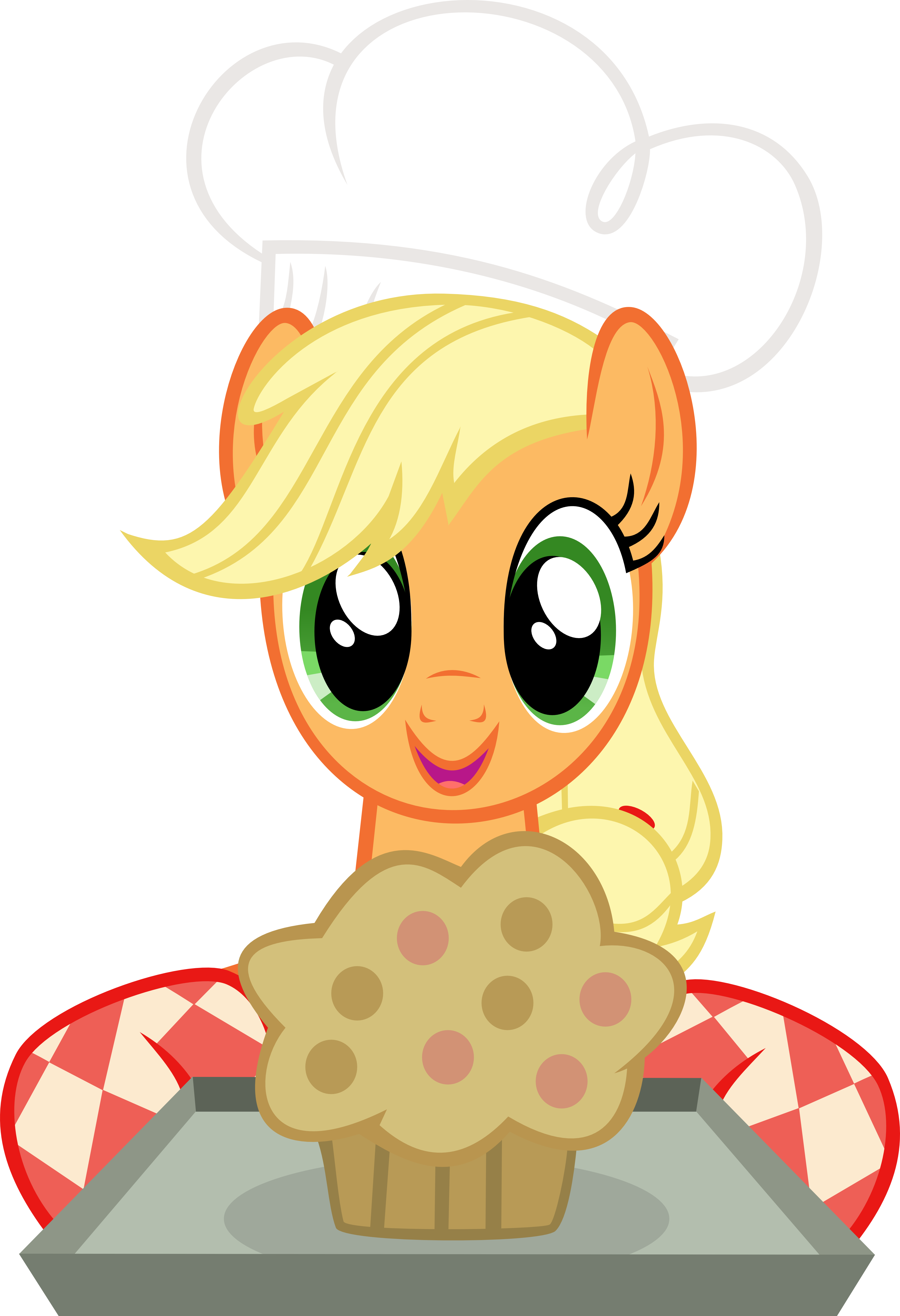 Muffins clipart mom cooking. Image my little pony