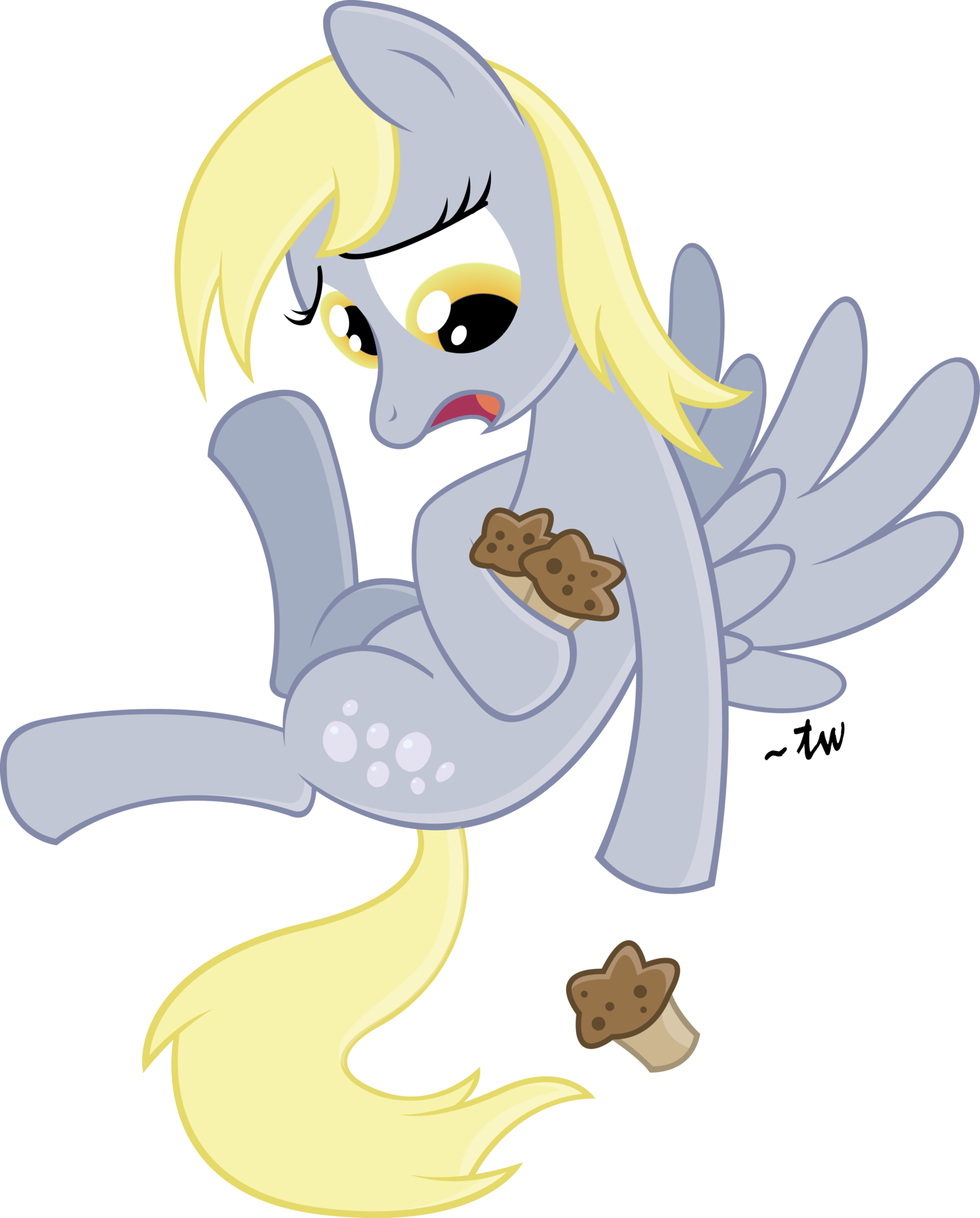 Image fanmade derpy dropping. Muffins clipart mlp