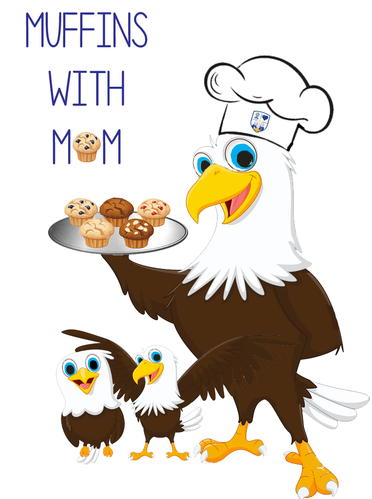 Muffins clipart mom flyer. With bring your and