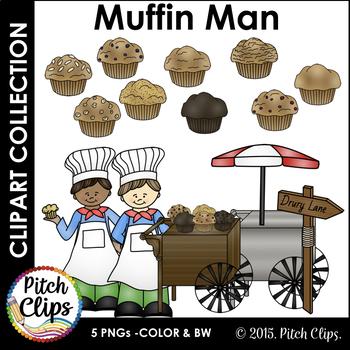 Clip art muffins cart. Muffin clipart muffin man