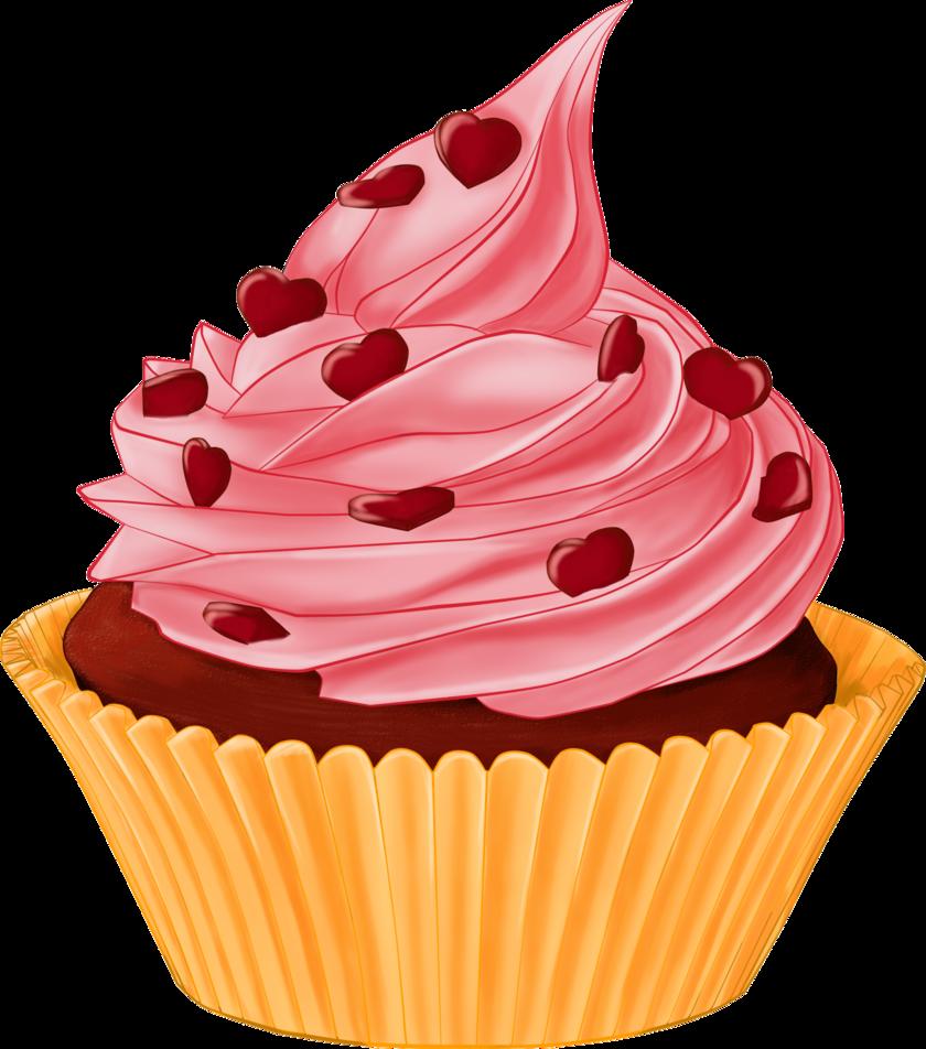 Muffins clipart cartoon. Cupcakes png deviantart pesquisa