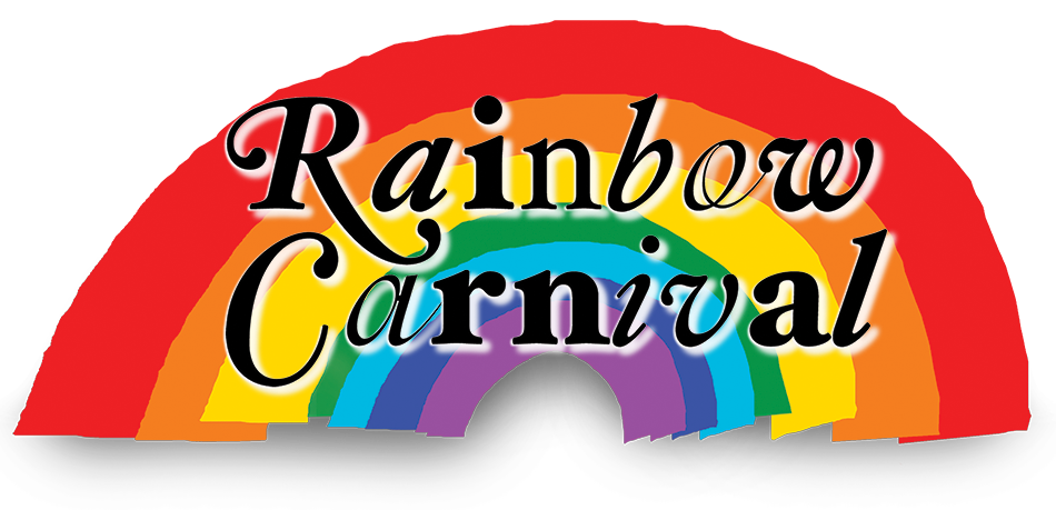 Raffle clipart sign carnival. Special event rainbow