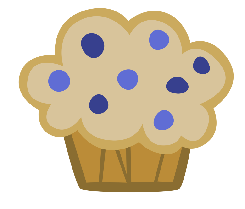 collection of blueberry. Muffins clipart strawberry muffin
