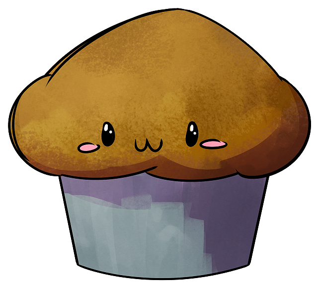 January th stud sketchdaily. Muffins clipart bran muffin