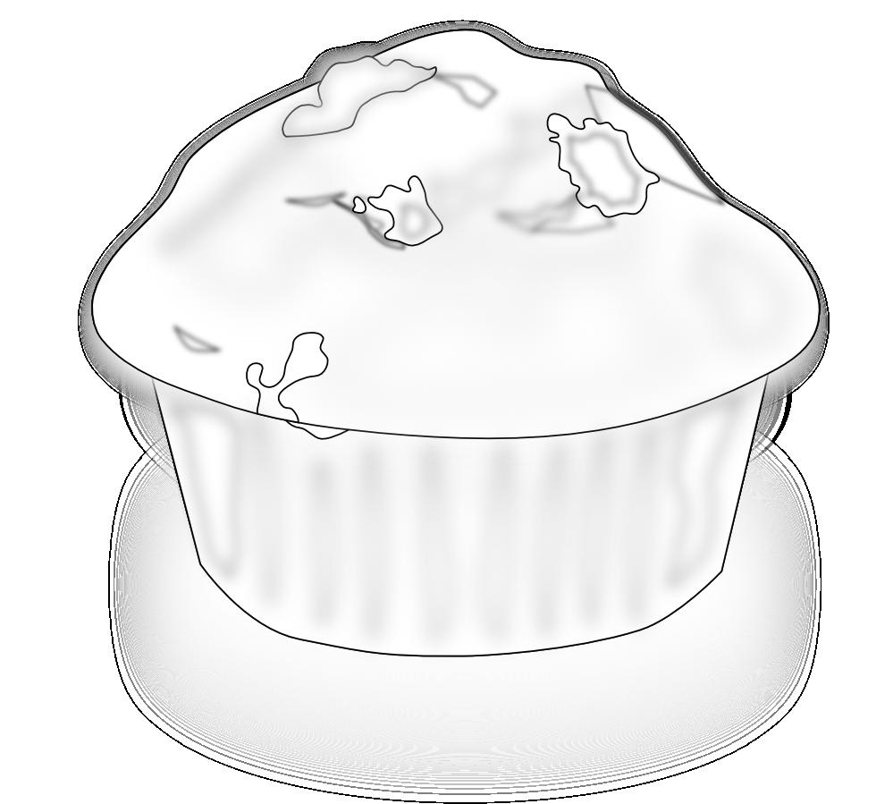 Clipartist net clip art. Muffins clipart svg