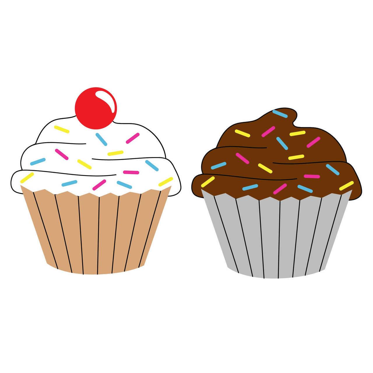 Muffin clipart svg. Free cupcake cut file