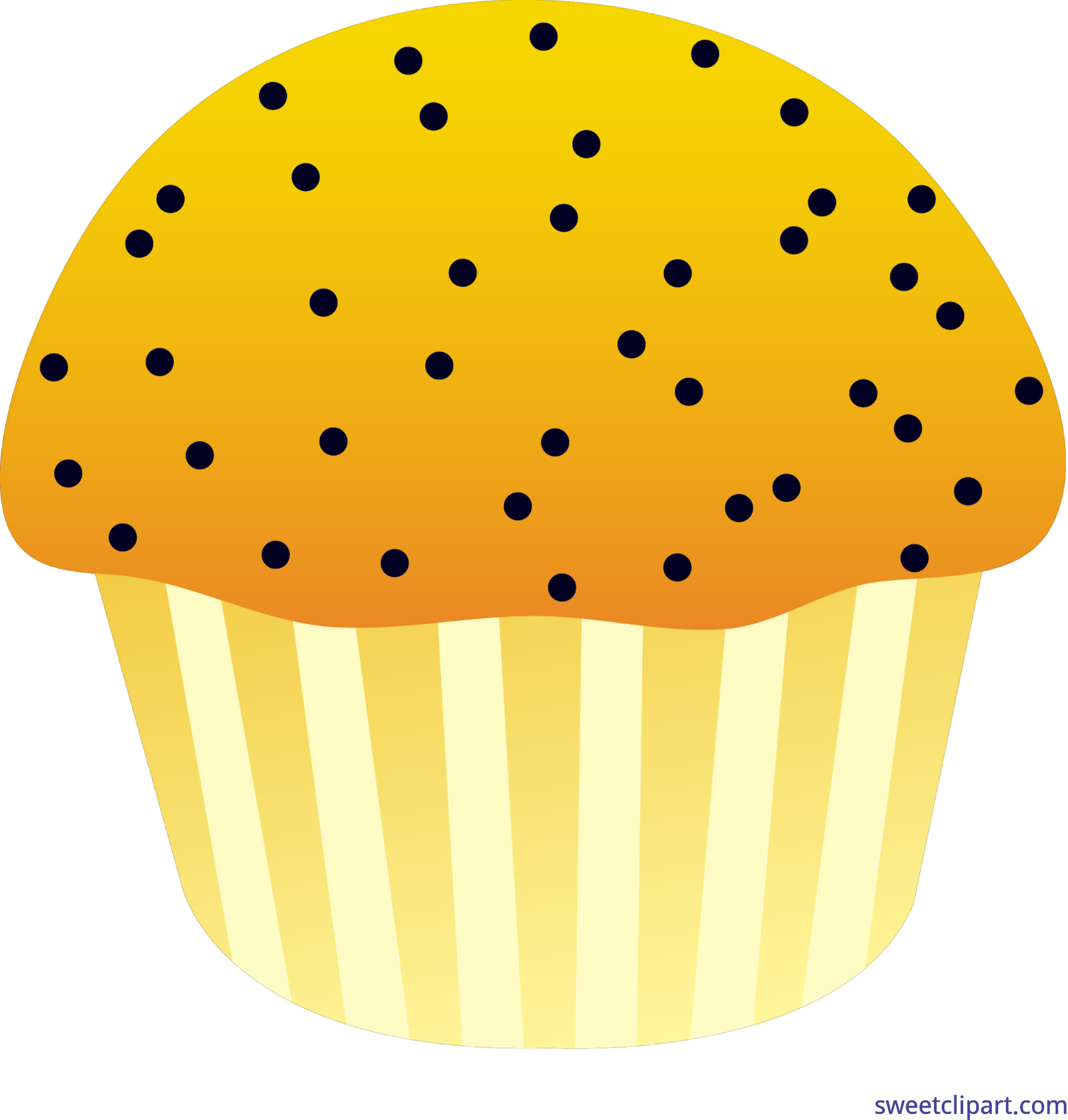 Muffins clipart sweet. Muffin lemon poppy seed