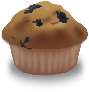 Blueberry clip art at. Muffin clipart