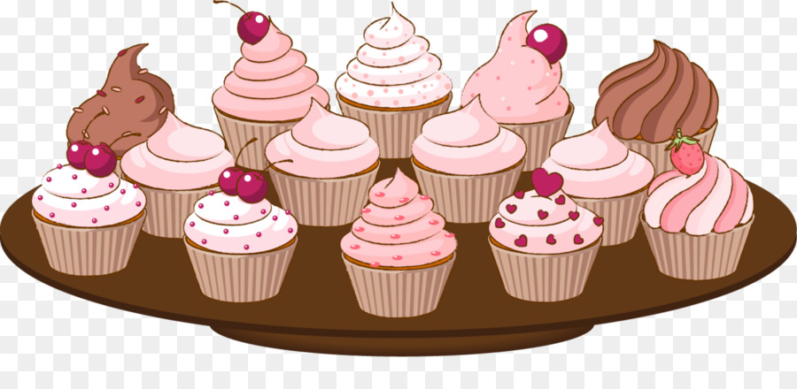 Muffins clipart bake sale item. Frozen food cartoon cupcake