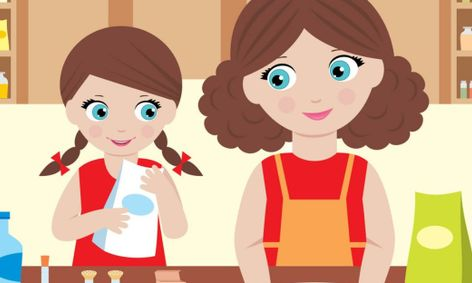 Mommy me small online. Muffins clipart baking class