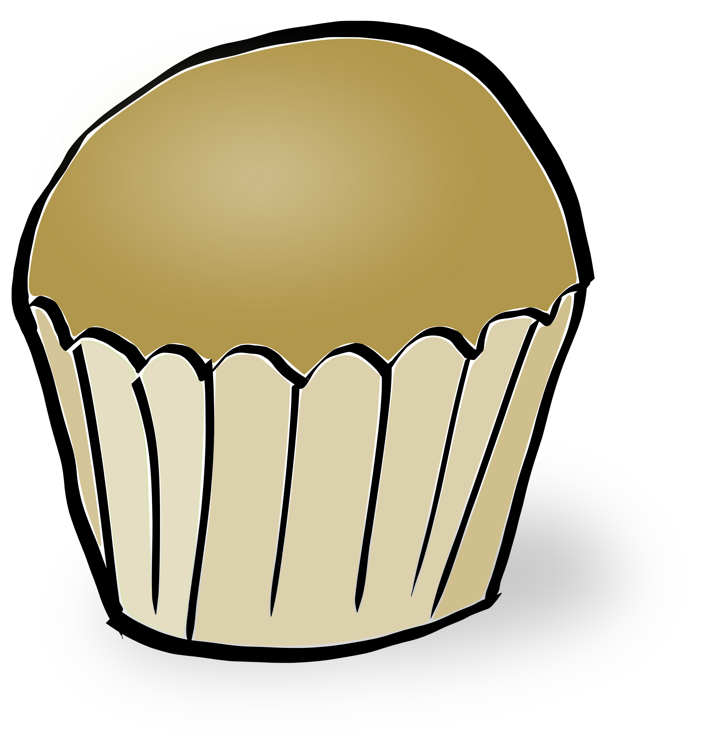 Muffin image png. Muffins clipart big cupcake