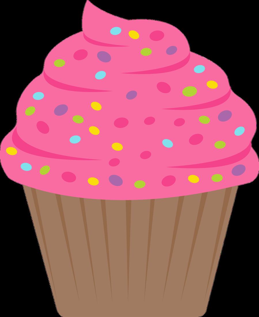 Cute cartoon cupcakes rainbow. Muffin clipart colorful cupcake