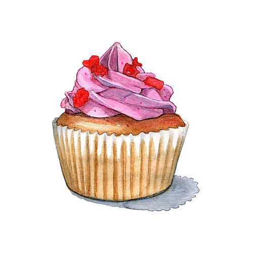 Muffins clipart cupcake tumblr. Drawing cupcakes in