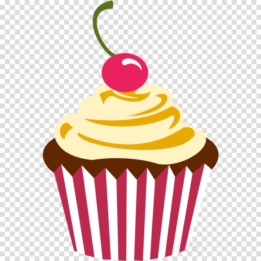 Frosting icing american transparent. Muffins clipart frosted cupcake