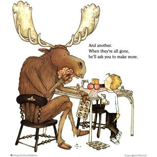 Crafty wonderland in . Muffins clipart if you give a moose a muffin