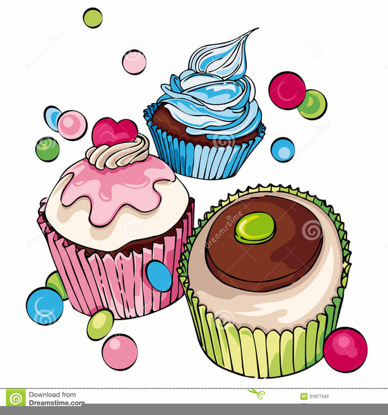 Muffins clipart large. Free with mom images