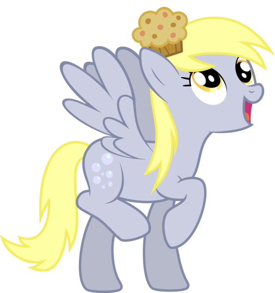 Derpy hooves pegasus pony. Muffins clipart little