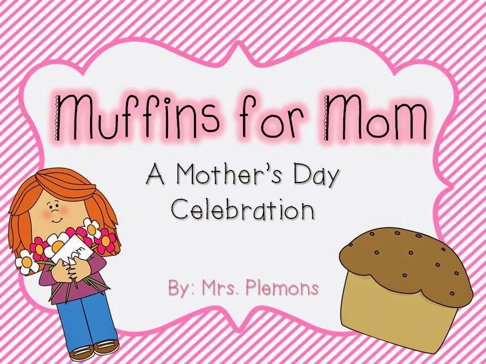 Muffins clipart mother. Mrs plemons kindergarten for