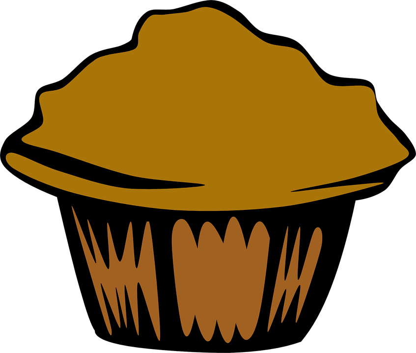 Muffins clipart outline. Muffin snack explore pictures