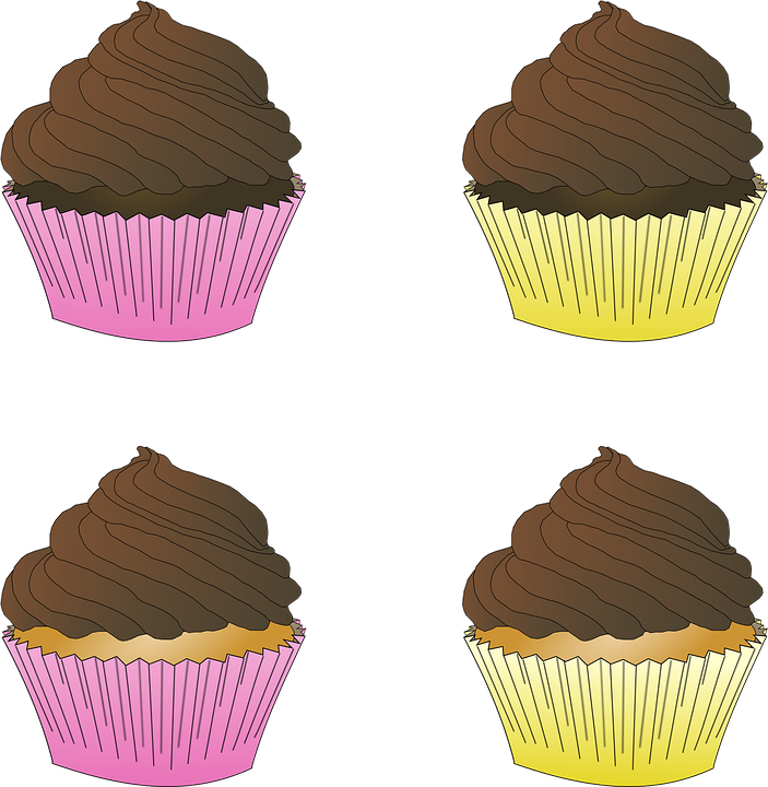 Muffins clipart outline. Cliparts free shop of