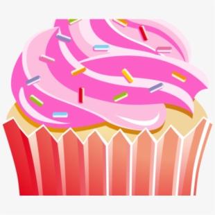 Vanilla kek cupcakes transparent. Muffins clipart simple cupcake
