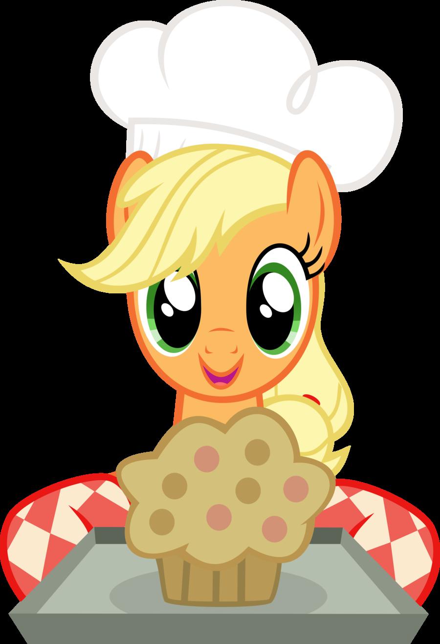 applejack artist abydos. Muffins clipart sweet