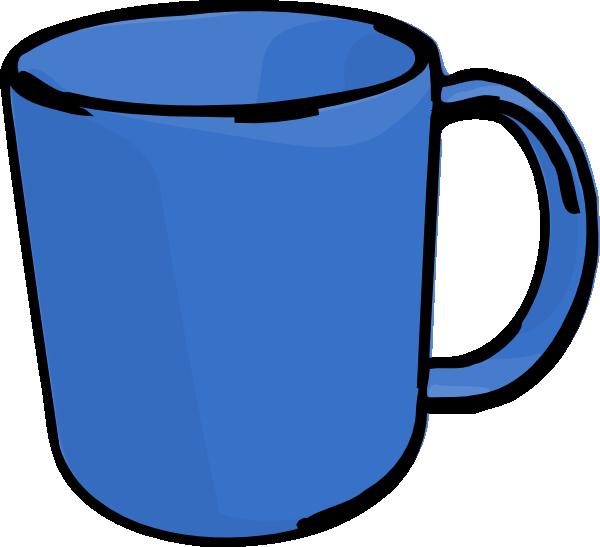 Clipart coffee blue. Mug clip art at