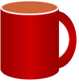 Free cute coffee images. Mug clipart