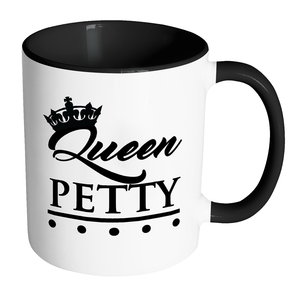 Queen petty fly noir. Mug clipart big mug