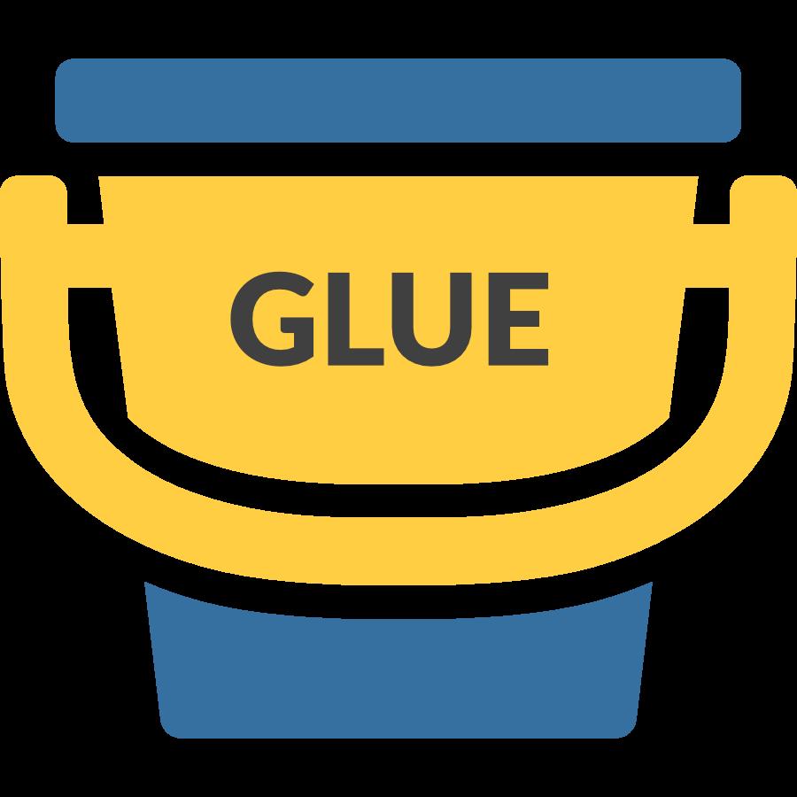 Mug clipart bucket. Of python glue