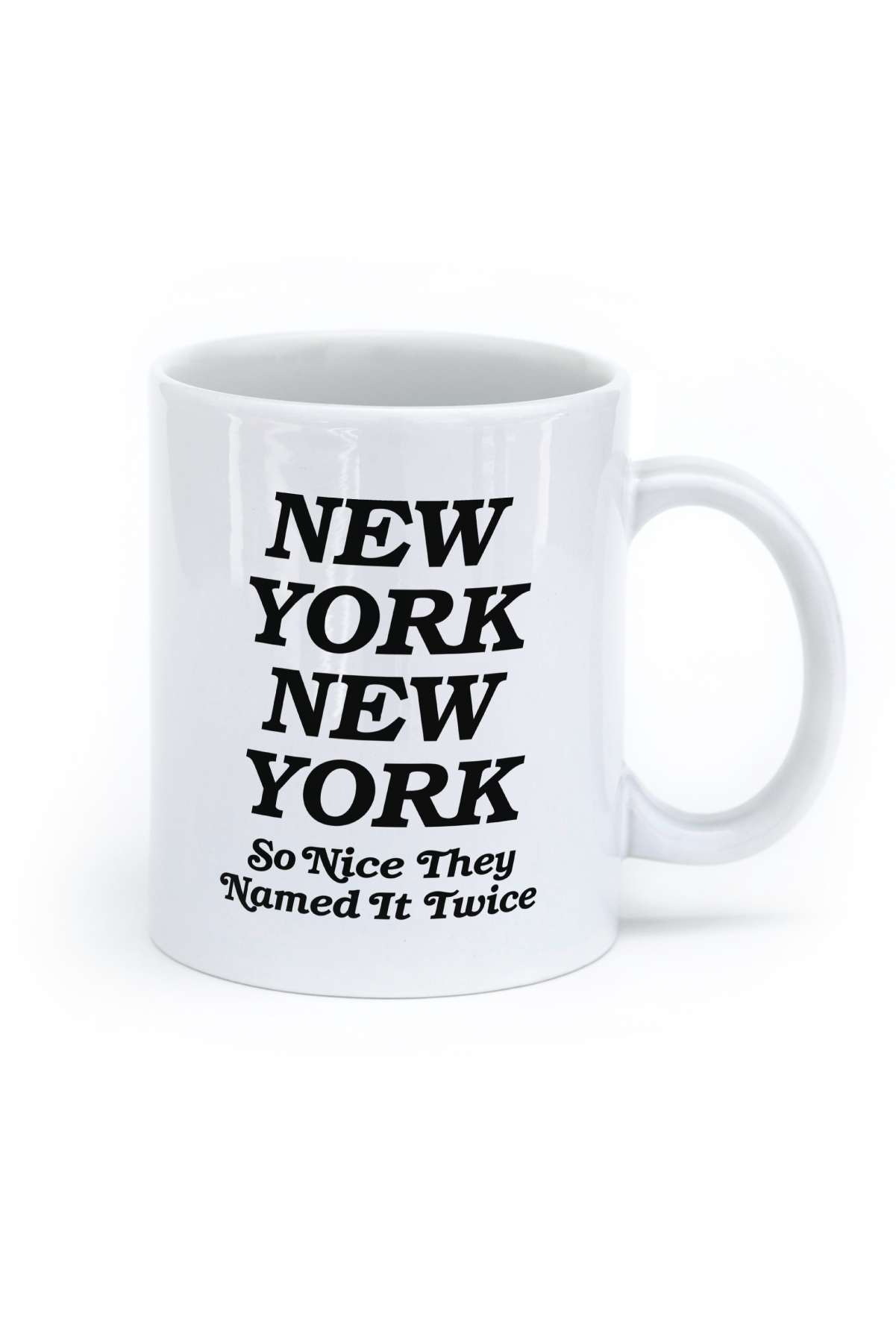 Nyc sticker ny. Mug clipart coffee bagel