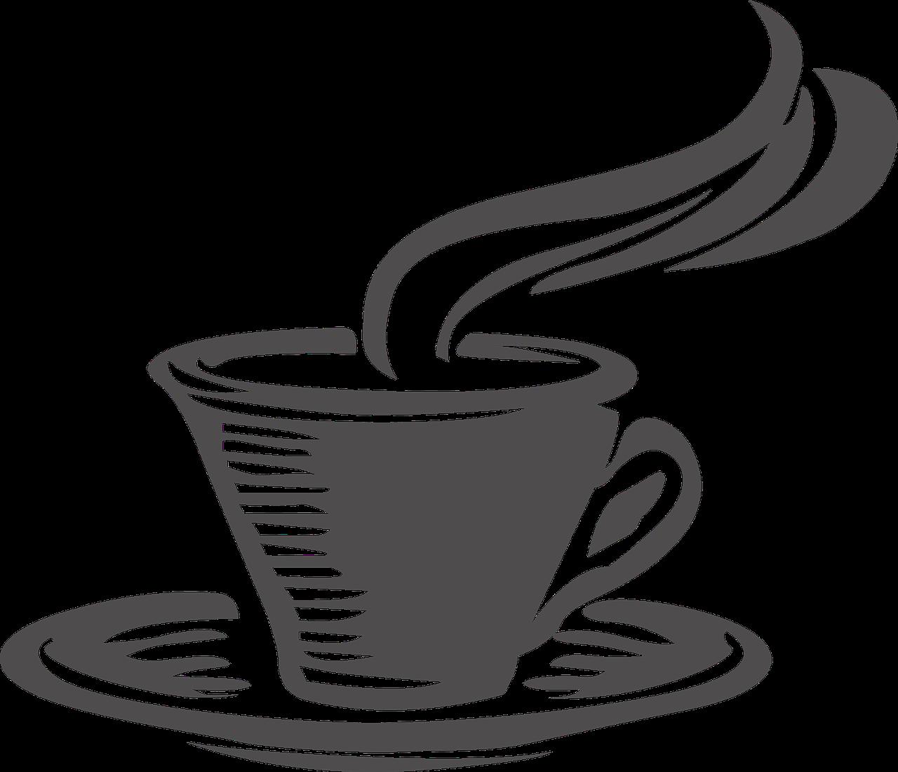 Mug clipart coffee bagel. Cup tea cafe clip