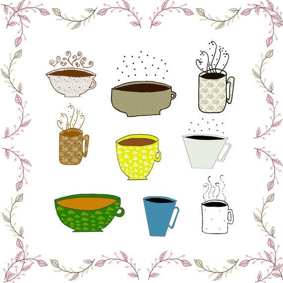 Coffee mugs cliparts tea. Mug clipart cute mug