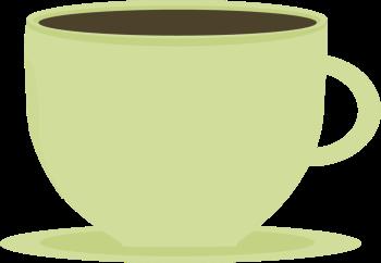 Mug clipart cute mug. Pencil and in color