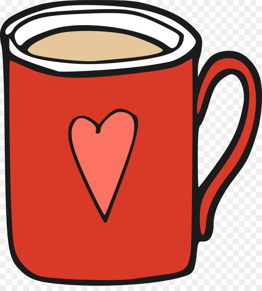 Mug clipart cute mug. Cartoon coffee png cup