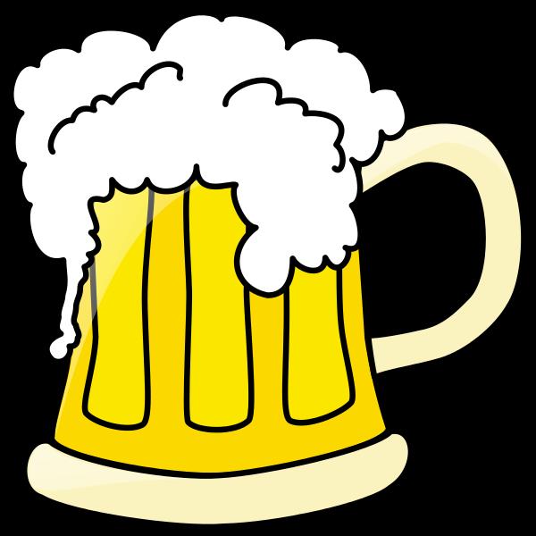 File beer svg wikipedia. Mug clipart draw
